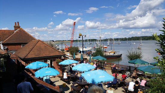 Woodbridge, UK: The location and view