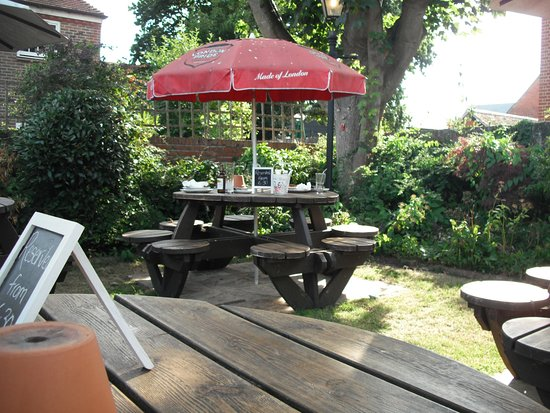 Beer Garden Picture Of The Old House At Home Havant Tripadvisor
