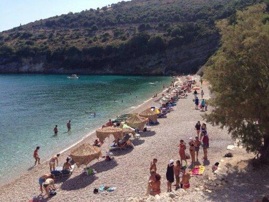 Makris Gialos, Grecia: spiaggia