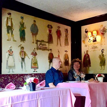 Bedford, Нью-Йорк: La Cremaillere Restaurant