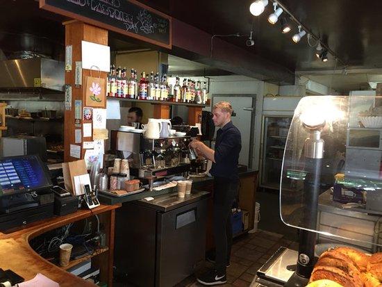 Kent, WA: The espresso bar