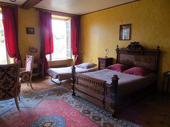 Valognes, Frankrig: Bedroom