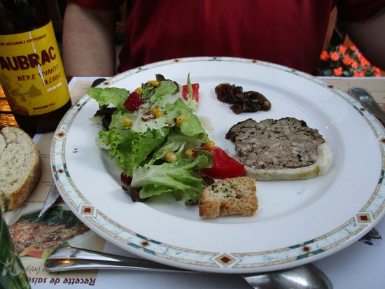 Estaing, France: Terrine maison (de sanglier ?)
