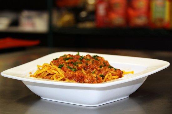 Newmarket, Canadá: Spaghetti with tuna sauce