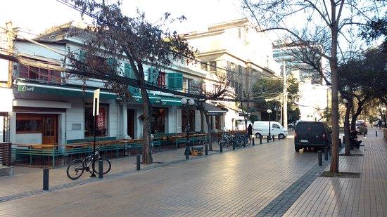 Le Reve Hotel Boutique: Rua