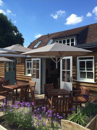 Hampstead Norreys, UK: Beautiful outdoor terrace