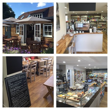 Hampstead Norreys, UK: Shop and Cafe