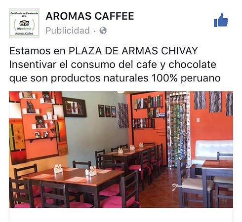 Chivay, Pérou : Aromas Caffee / COLCA Perú