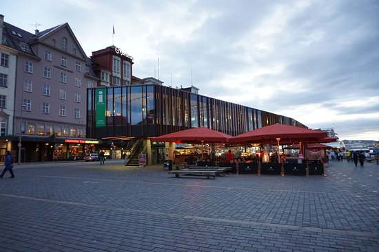 Bergen Tourist Information: next to the fish market and sits right on top of a few restaurants