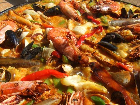 La Paella de la Mer : miam miam