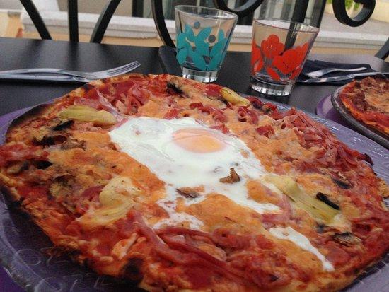 Le Saint Jean : pizza st jean