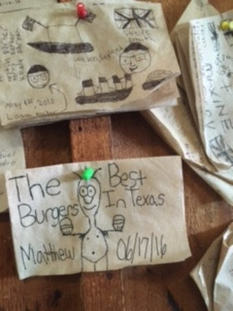 Mineola, TX: It's fun to read all the napkin reviews!