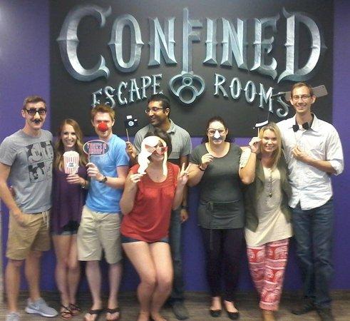 Confined Escape Room Calgary