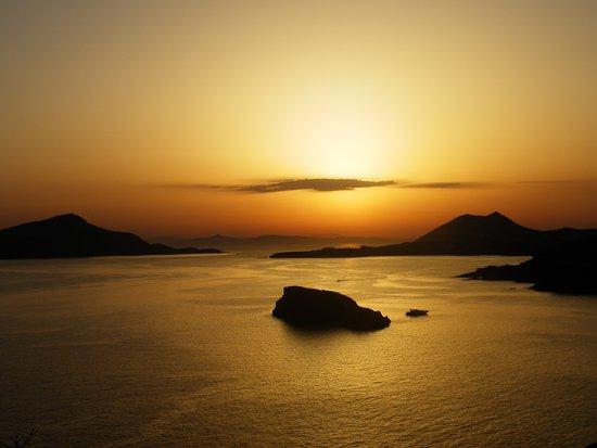 Marathon, اليونان: Coucher de soleil au Cap Sounio