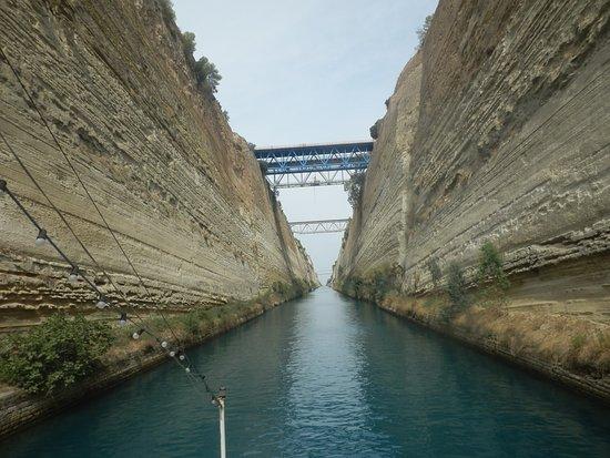 Marathon, กรีซ: Canal de Corinthe