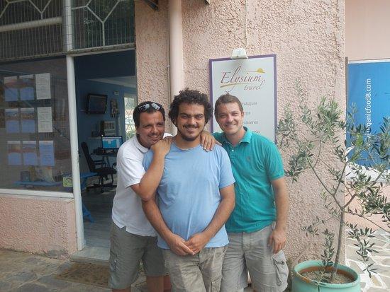Marathon, กรีซ: Les 3 mosquetaires