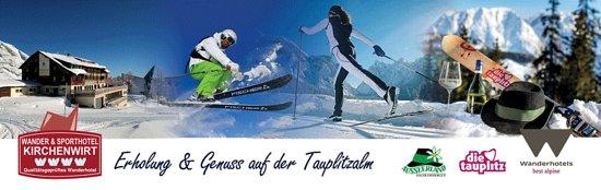 Tauplitz, Autriche : Winterbild