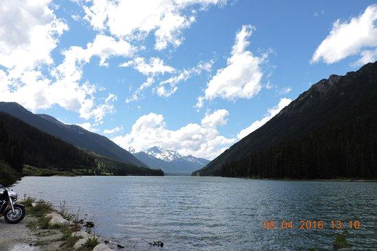 Pemberton, Canadá: 湖辺景色