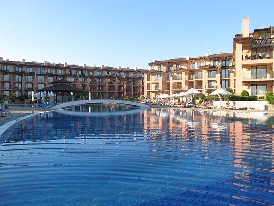 Kavarna, Bulgarien: Infinity pool
