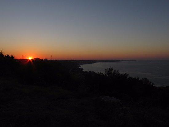Kavarna, Bulgarien: Sun rise seen from hotel