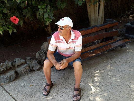 Punta Mujeres, Spanien: Descansando un ratito
