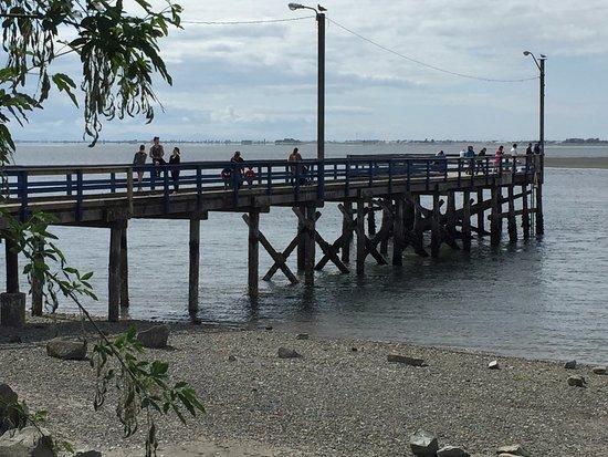 Surrey, Canada: Pier at Crescent Beach