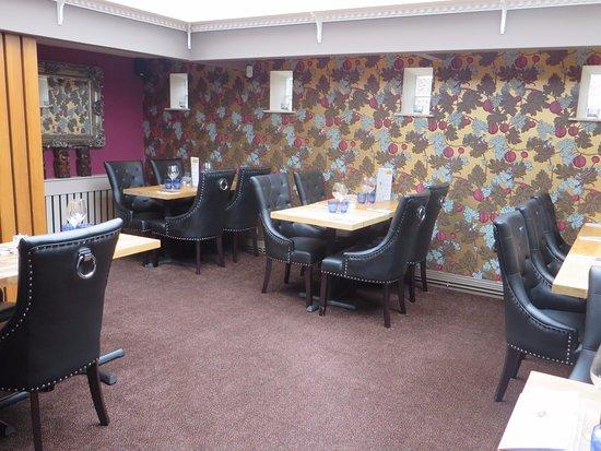 Ashby de la Zouch, UK: Plush interior