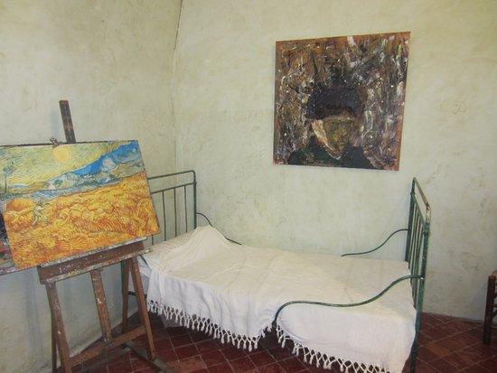 Saint-Remy-de-Provence, France: Room of Van Gogh
