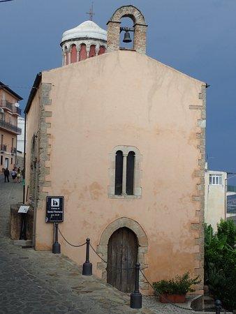 Santa Severina, Italy: Parete frontale