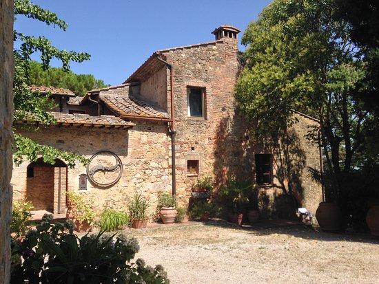 Castel San Gimignano, Itália: Regrouppement des appartements