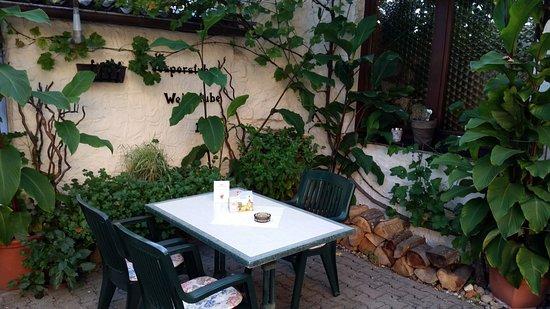 Bad Mergentheim, Alemania: Biergarten