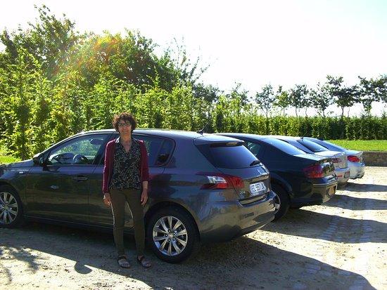 Pleurtuit, France: Parking seguro en interior propiedad.