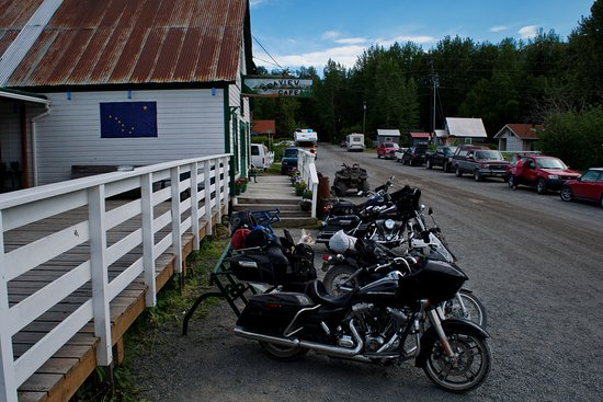 "Hope, AK: The Seaview is ""biker friendly!"""