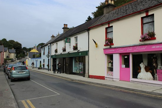 Avoca, Irlande : окрестности рядом с пабом