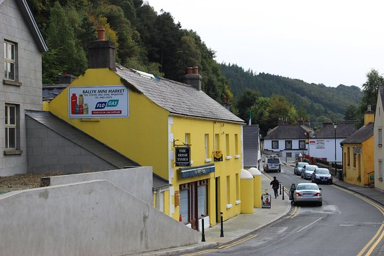 Avoca, Irlanda: окрестности рядом с пабом