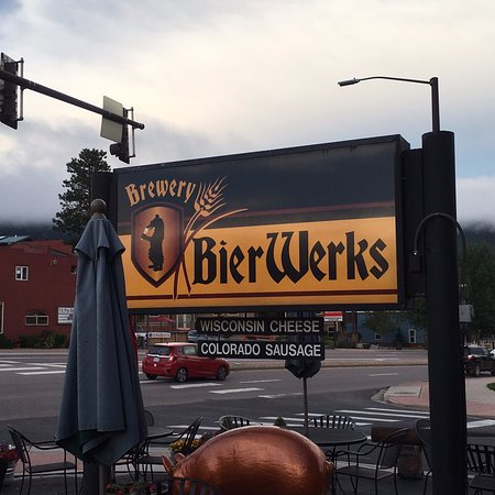 Woodland Park, CO: Beir Werks. Love that Logo.