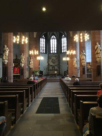 Liebfrauenkirche: Innenraum der Kirche