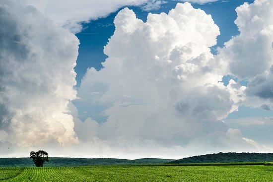 East Earl, Pensylwania: storm clouds