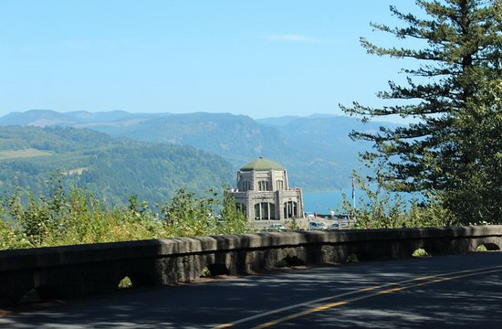 Troutdale, OR: Approaching the Vista House