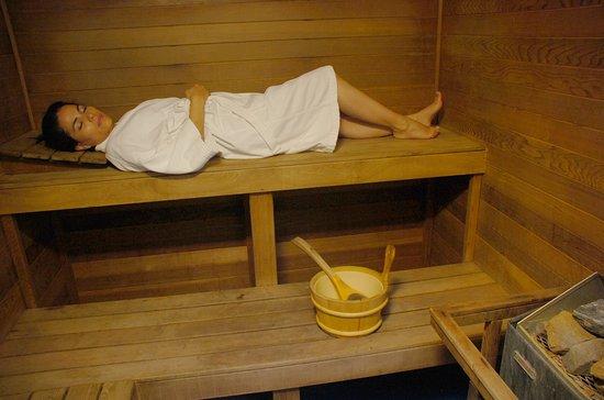 Hotel Plaza San Martin : Sauna