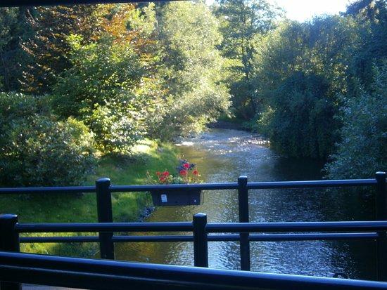 Stoumont, Belgique : Vue sur la Lienne