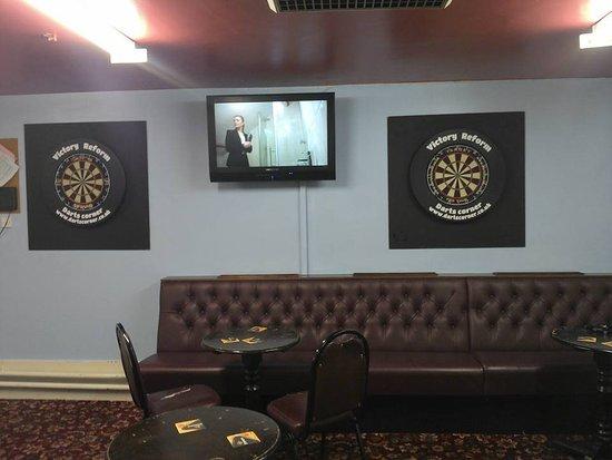 Bolton, UK: The darts room