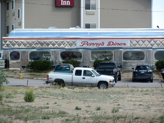 Rawlins, WY: Penny's Diner at the Oak Tree Inn