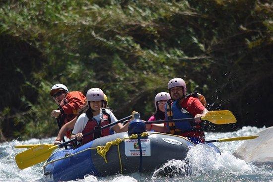 Hotel Lunahuana River Resort: Lo mejor el canotaje