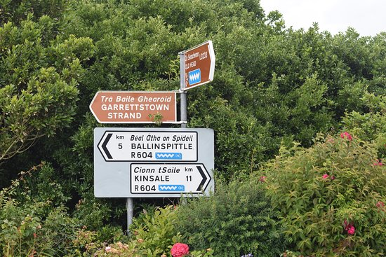 Midleton, Ierland: Which way to go?