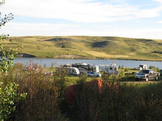 Cypress Hills Interprovincial Park Camping At Firerock