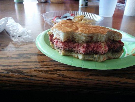 Englewood, CO: Raw burger anyone?