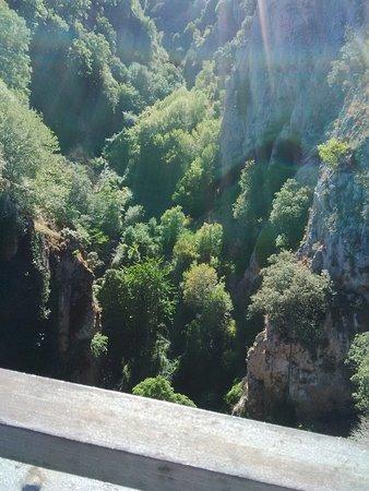 Ortigosa De Cameros, Espanha: Vistas desde el puente