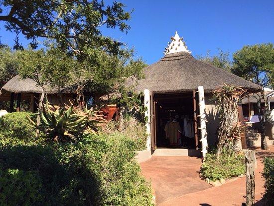 Amakhala Game Reserve, Afrika Selatan: The small shop