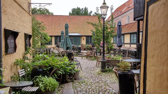 Ribe, เดนมาร์ก: patio